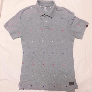 ナイキ(NIKE)のNIKEナイキポロシャツ(メンズ)グレー(ポロシャツ)