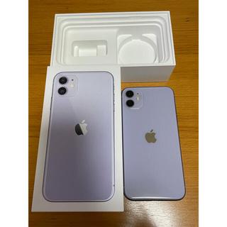 Apple - iPhone11 64GB SIMフリー Purple