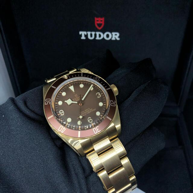 Tudor(チュードル)のチューダー TUDOR ブラックベイ 58 ブロンズ 79012M メンズの時計(腕時計(アナログ))の商品写真