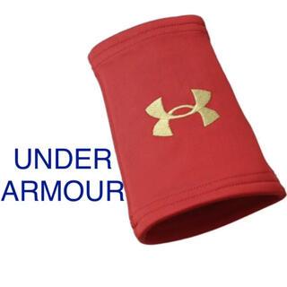 UNDER ARMOUR - 新品 アンダーアーマー ロゴ 刺繍 リストバンド 野球 吸水速乾 ストレッチ