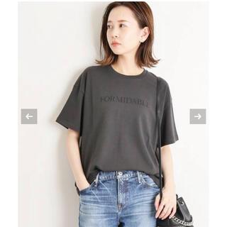 IENA - 【新品未使用】IENA  ロゴプリントTシャツ