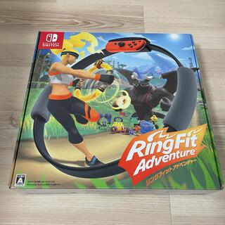 Nintendo Switch - リングフィットアドベンチャー (ソフト、リングコン、レッグバンド同梱)