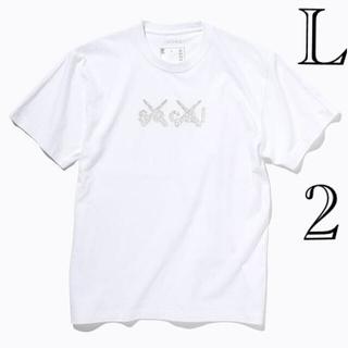 sacai - sacai x KAWS Print Tシャツ ホワイト L サイズ2 新品