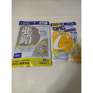 DHC - 亜鉛60日分ビタミンC20日分1セット DHC