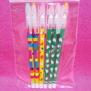 サクラクレパス(サクラクレパス)の6本セット サクラクレパス 消しゴムで消せるボールペン クーピー くれよん(ペン/マーカー)