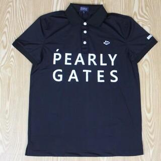 パーリーゲイツ メンズ ゴルフ Tシャツ ポロシャツ  M