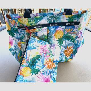 LeSportsac - レスポートサック ハワイ限定品 トートバッグ カートバッグ ローレンロス 夏 海