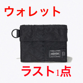 PORTER - KAWS TOKYO FIRST PORTER コラボ ウォレット