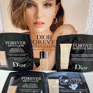 ディオール(Dior)のディオール☆フォーエヴァーリキッドファンデーション、メイクアップベース(ファンデーション)