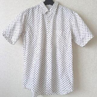 ビームス(BEAMS)の☆BEAMS ビームス シャツ 白 星 Mサイズ 美品 (シャツ)