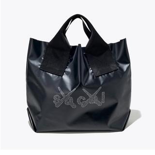 sacai - sacai x KAWS Print Tote Bag  トートバッグ 黒 新品