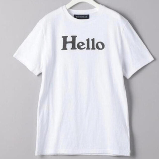 MADISONBLUE - マディソンブルー Tシャツ Hello
