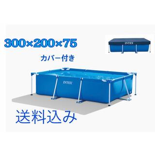 インテックス 大型フレームプール 300 3m2m