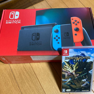 Nintendo Switch - 任天堂 スイッチ  中古品 モンスターハンターライズ セット
