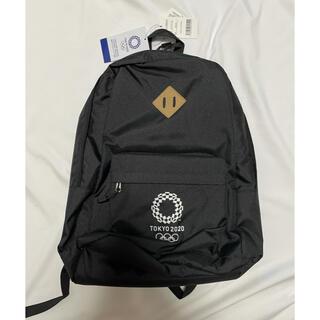 東京 2020 オリンピック 公式 リュック バックパック 黒