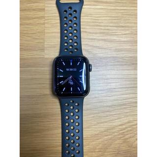 Apple Watch - Apple Watch SE NIKEモデル 40mm スペースグレイ