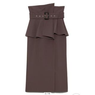snidel - コルセットベルトタイトスカート