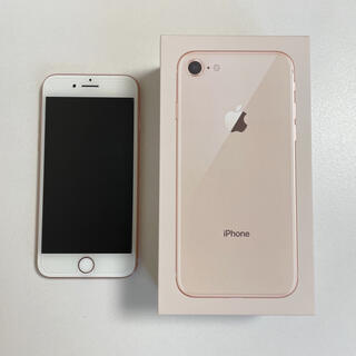 iPhone - iPhone8 ピンクゴールド(64GB)/SIMフリー