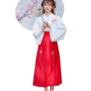 コスチューム コスプレ 人気   巫女服  レディース  仮装 5点セット(衣装一式)