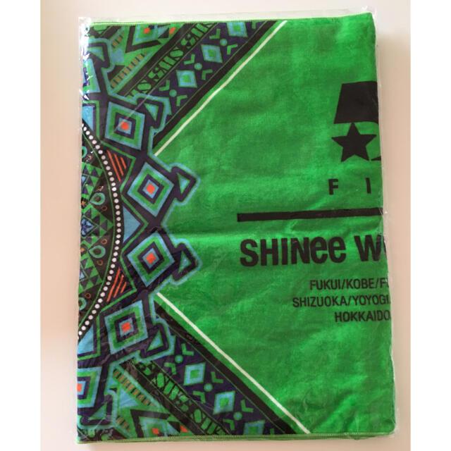 SHINee(シャイニー)のSHINee ジョンヒョン タオル スポーツタオル 未開封 エンタメ/ホビーのタレントグッズ(アイドルグッズ)の商品写真