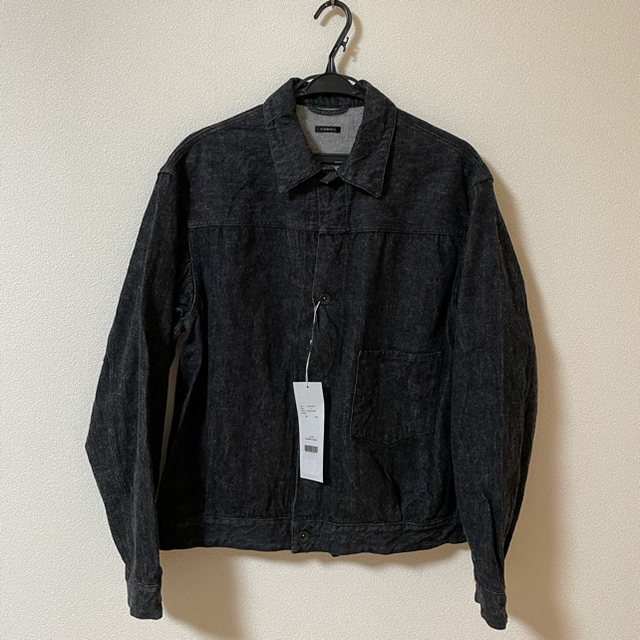 COMOLI(コモリ)のCOMOLI/コモリ デニムジャケット denim jacket メンズのジャケット/アウター(Gジャン/デニムジャケット)の商品写真