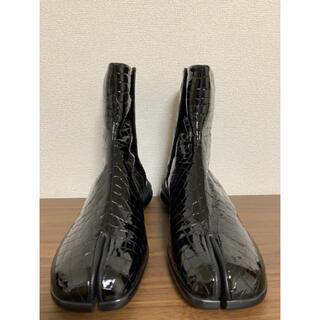 Maison Martin Margiela - 新品 マルジェラ 足袋 タビ ブーツ 41サイズ クロコ 定価205,000円