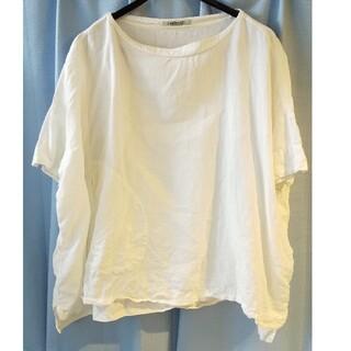 オムニゴッド(OMNIGOD)のOMNIGOD リネンシャツ ビックシルエット サイズ2(カットソー(半袖/袖なし))