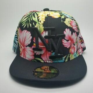 新品 送料込み キッズベースボールキャップ子供用帽子ニューヨーク ボタニカル(帽子)