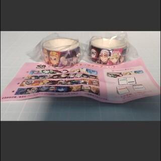 集英社 - 鬼滅の刃 くら寿司 びっくらポン マスキングテープ ②柱集合 2個セット