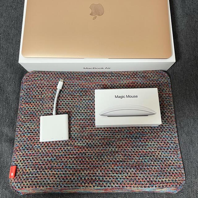 Mac (Apple)(マック)のMacBook Air 2020 16GB 512GB 13インチ Ratina スマホ/家電/カメラのPC/タブレット(ノートPC)の商品写真