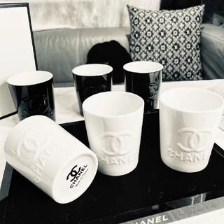 CHANEL 白磁のカップ  6杯セット