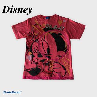 Disney - 美品 Disney ディズニー ミニー Tシャツ 両面プリント 綿100% M