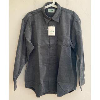 クロコダイル(Crocodile)の未使用タグ付 Crocodile クロコダイル 長袖ボタンダウンシャツ サイズL(シャツ)