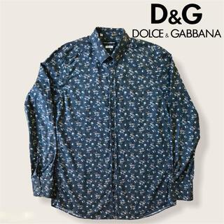 DOLCE&GABBANA - DOLCE&GABBANA ドルガバ 花柄シャツ