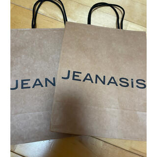 ジーナシス(JEANASIS)のジーナシスショップ袋2枚(ショップ袋)