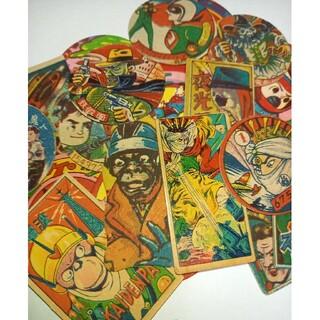 1950~1960年代希少面子19枚 メンコ めんこ カード(印刷物)