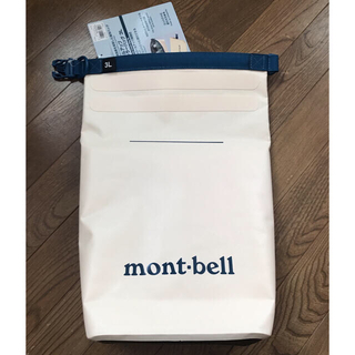 mont bell - 【タグ付新品未使用】モンベル ロールアップクーラーバッグ 3L