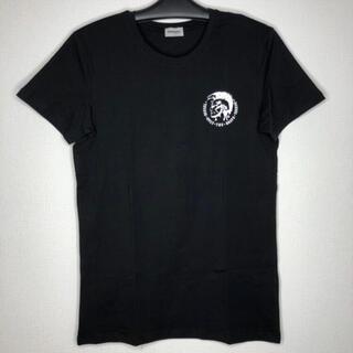 DIESEL - ディーゼル メンズM Tシャツ  クルーネックシャツ ブラック インナーシャツ