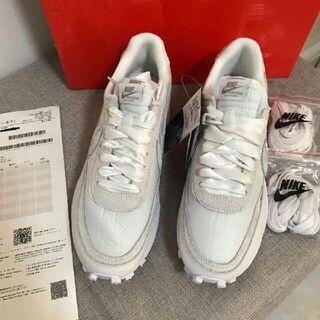 新品28cm Nike x sacai LDV Waffle ホワイト(スニーカー)