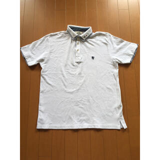 ポロシャツ L メンズ 白 (ポロシャツ)