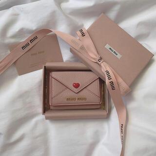 miumiu - miumiu レター 財布