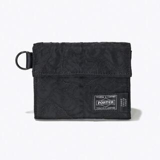 PORTER - KAWS TOKYO FIRST PORTER ウォレット ブラック 新品