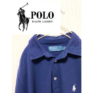 ポロラルフローレン(POLO RALPH LAUREN)のPolo Ralph Lauren  ネイビー刺繍ポロシャツ  フォロー割実施中(ポロシャツ)