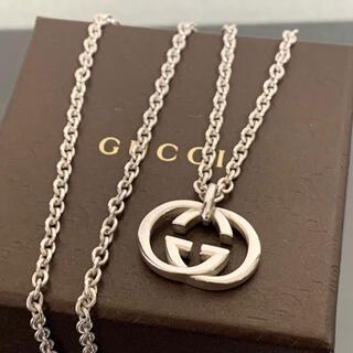 Gucci - グッチ ネックレス アクセ GG インターロッキング チェーン SV925