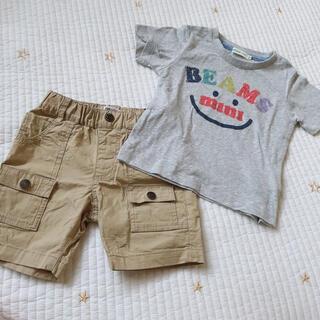 ビームス(BEAMS)のビーミングバイビームス ビームスミニ Tシャツ&ハーフパンツ(Tシャツ/カットソー)