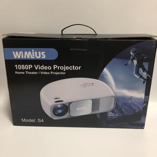 【ジャンク品】WiMiUS プロジェクター 8000ルーメン 1080P解像度(プロジェクター)