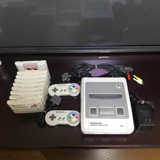 スーパーファミコン(スーパーファミコン)のNintendo スーパーファミコンセット ソフト9本付き!(家庭用ゲーム機本体)