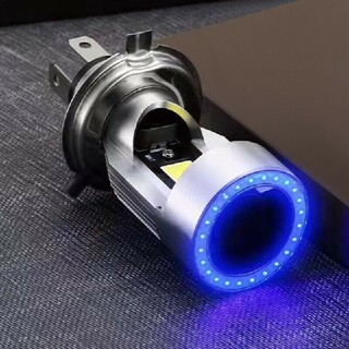 2021年モデル ブルーイカリング搭載 バイク用LEDヘッドライト