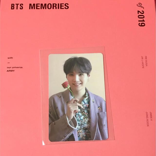 防弾少年団(BTS)(ボウダンショウネンダン)のBTS Memories 2019 DVD ユンギ  SUGA エンタメ/ホビーのCD(K-POP/アジア)の商品写真