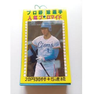 1980年代「プロ野球選手」人気ブロマイド 1束完品(印刷物)